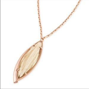 Kendra Scott Rose Gold Milla Necklace